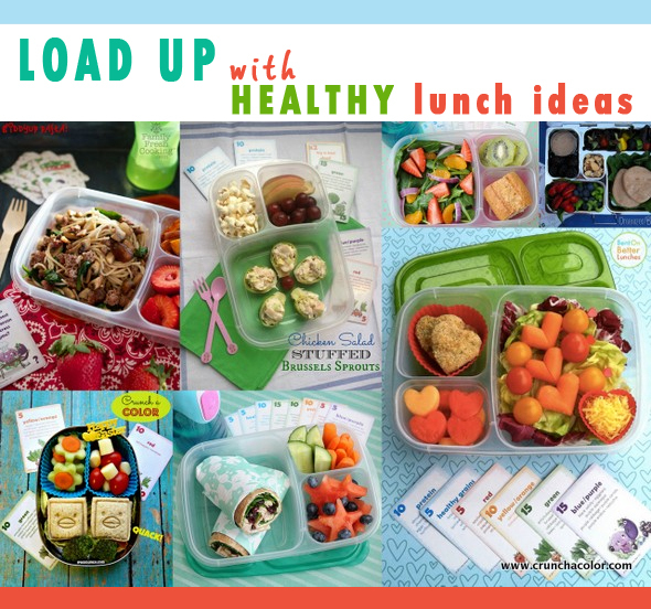 healthy lunch ideas crunch a color