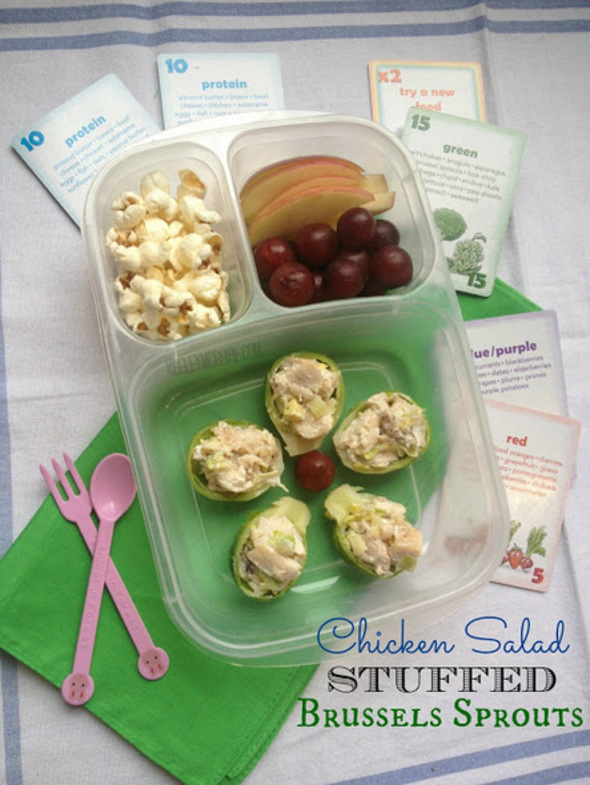healthy lunch ideas Keeley McGuire Crunch a Color