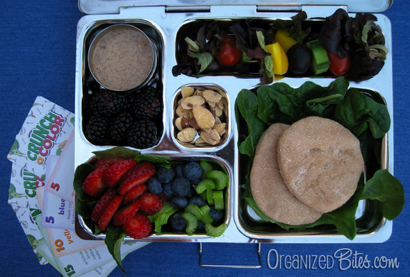 healthy lunch ideas Organized Bites Crunch a Color