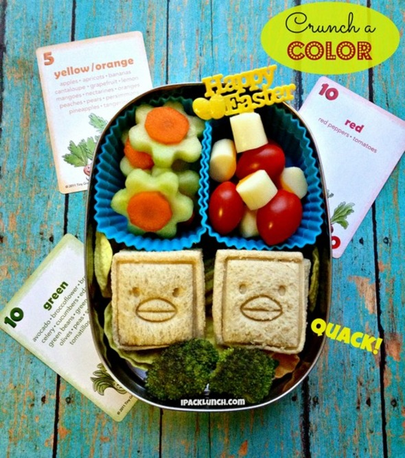 healthy lunch ideas ipacklunch Crunch a Color