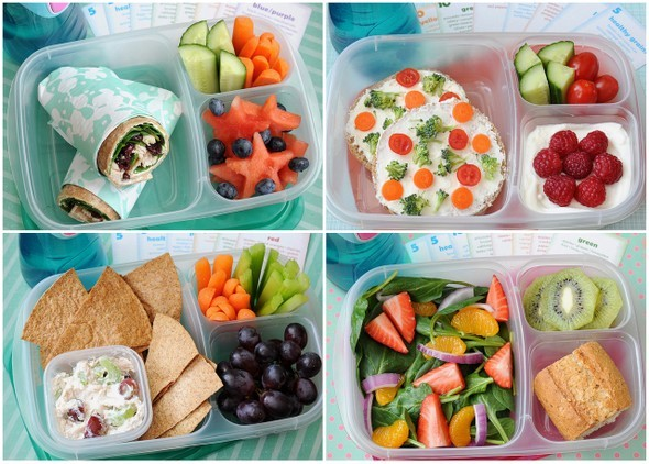 healthy lunch ideas meet the dubiens crunch a color