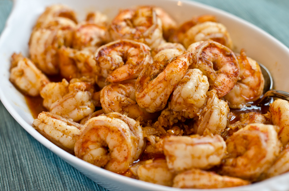 Dinner tonight ginger garlic chili shrimp huffpost What to make with shrimp for dinner