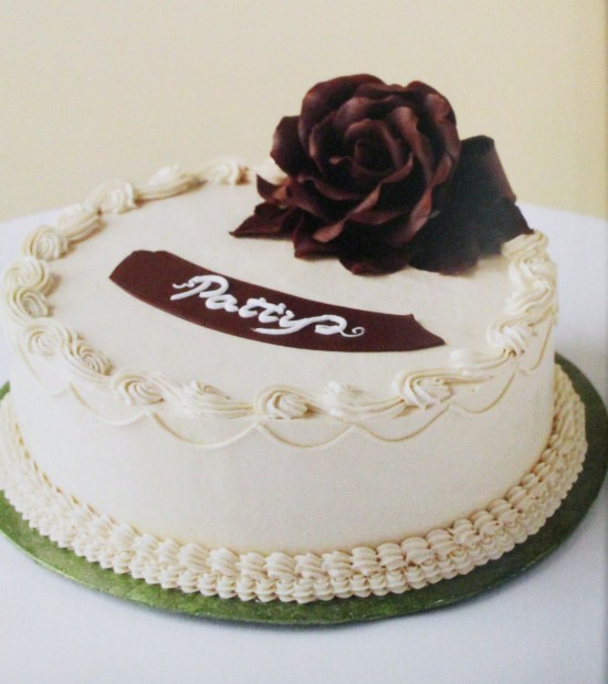 Muscle Eggs Birthday Cake