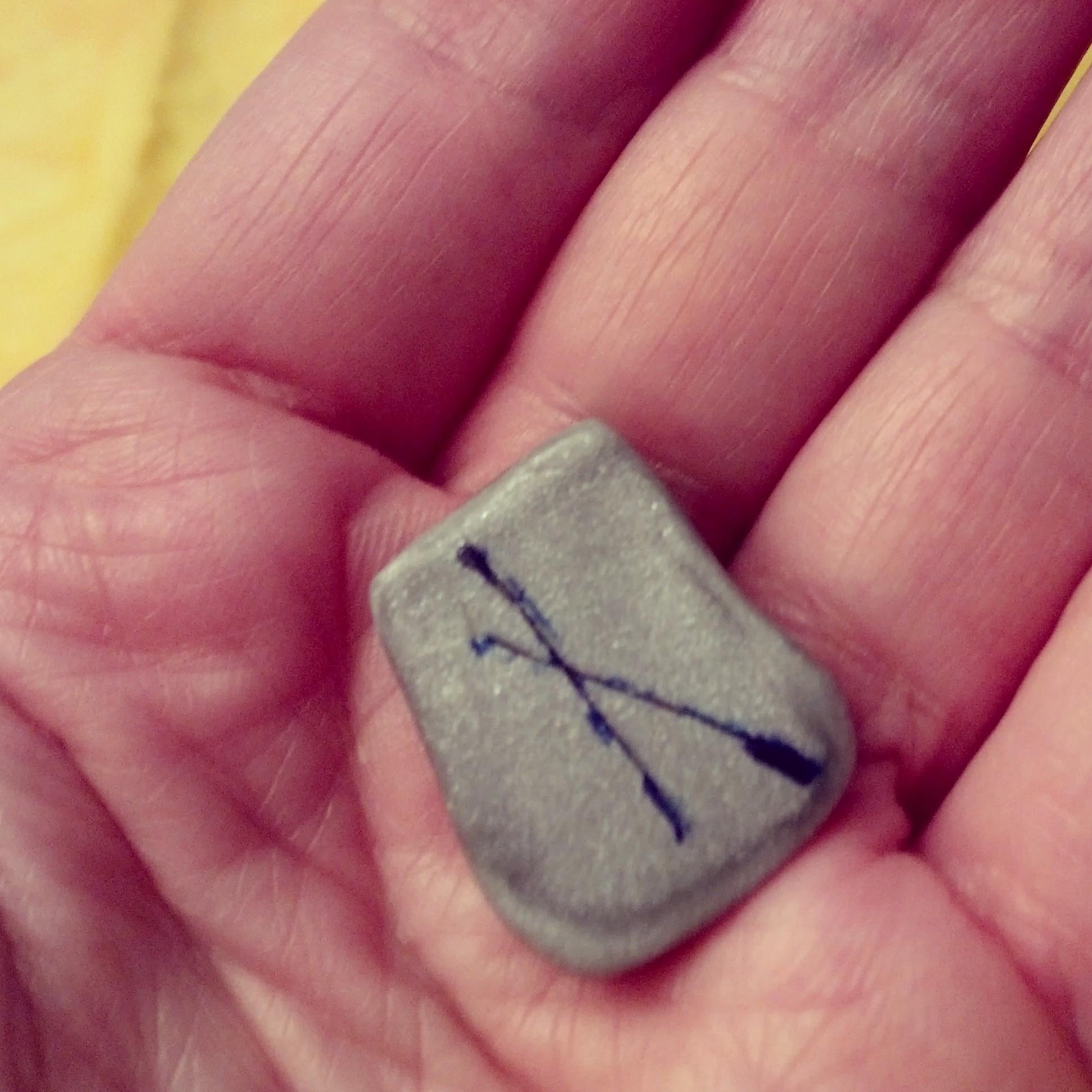 Weekly Rune -Nauthiz by S. Kelley Harrell