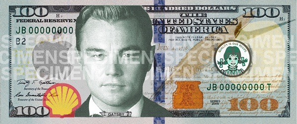 The Great Gatsby $100 w/ promotional advertising may assist our