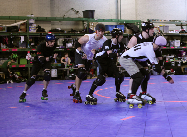 Roller Derby Provides a Model for Pro Sports in Accepting Openly Gay Men HuffPost