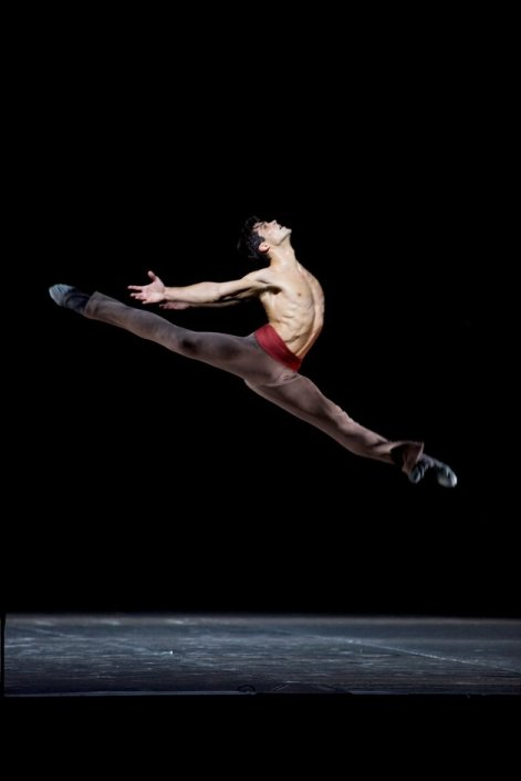 Ballet Superstar Roberto Bolle Talks Favorite Dancers