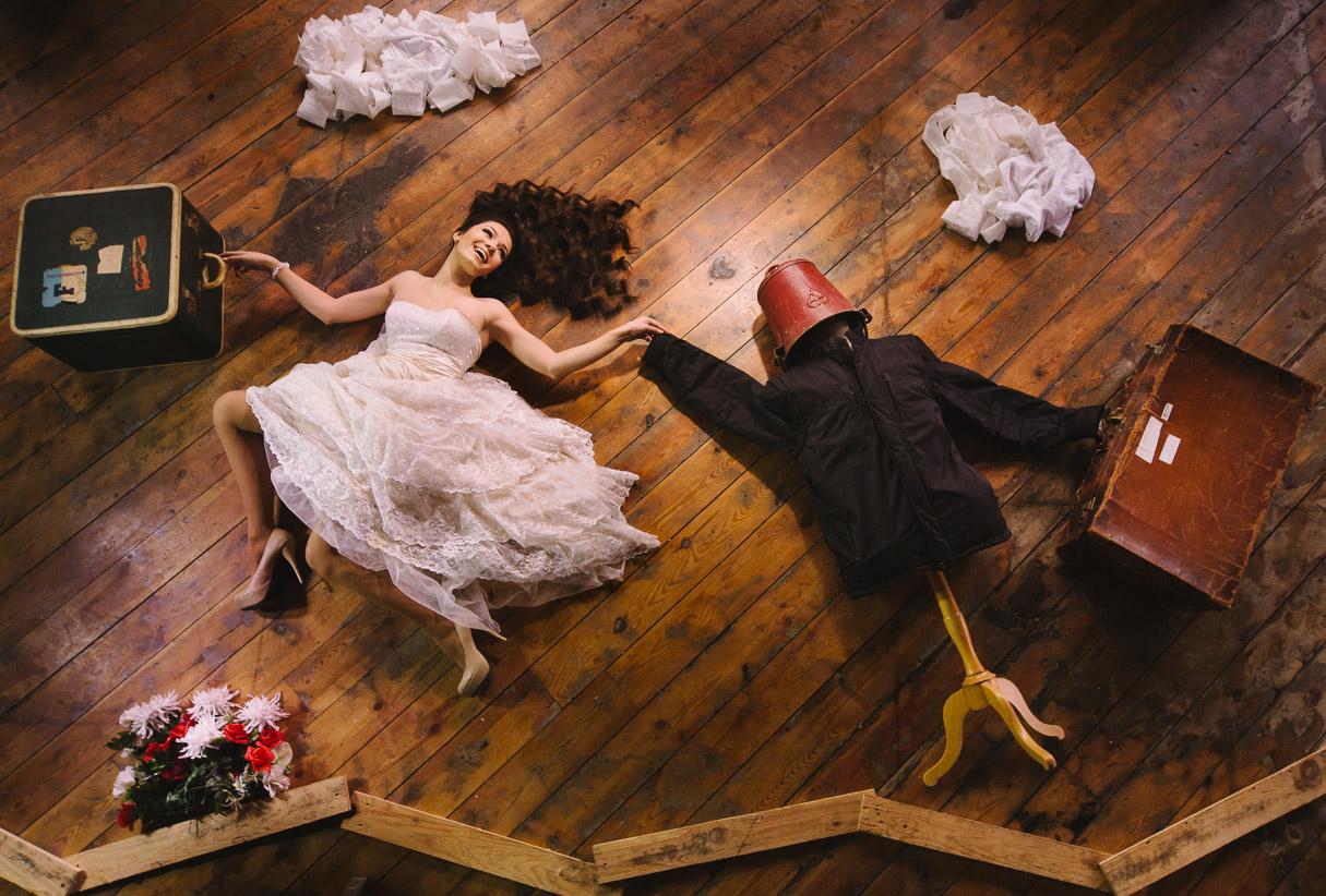 Wedding Photoshoot Takes Unusual Turn PHOTOS
