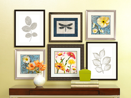 Easy Home Decor Ideas to Update Your Space - Hang a Gallery Wall
