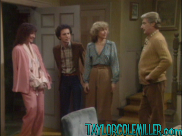 Randee Heller as Alice in Soap, Meeting the Dallas family, 1 March 1979