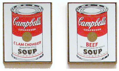 andy warhol campbell s soup can On july 9, 1962, andy warhol made his one-person debut at a los angles  gallery called ferus, founded five years earlier by curator walter.