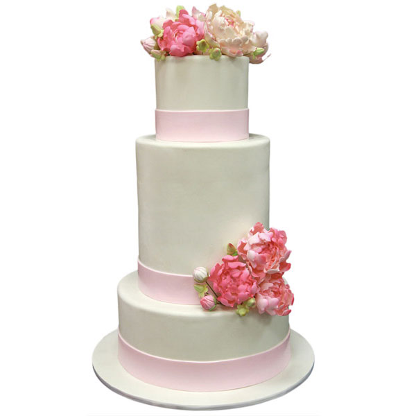 Average Cost Of Three Tier Wedding Cake