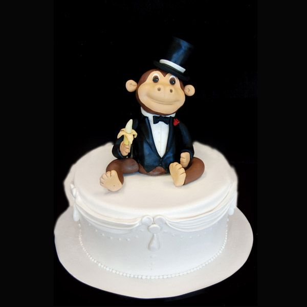 Average Cake Topper Size
