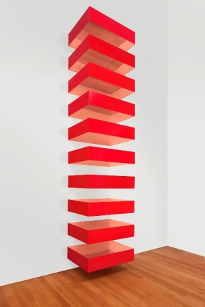 Art wiki donaldjudd for Donald judd stack 1972