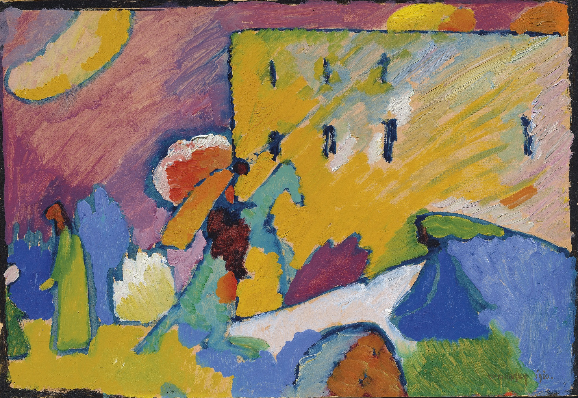 wassily kandinsky auction 39 studie zu improvisation 3