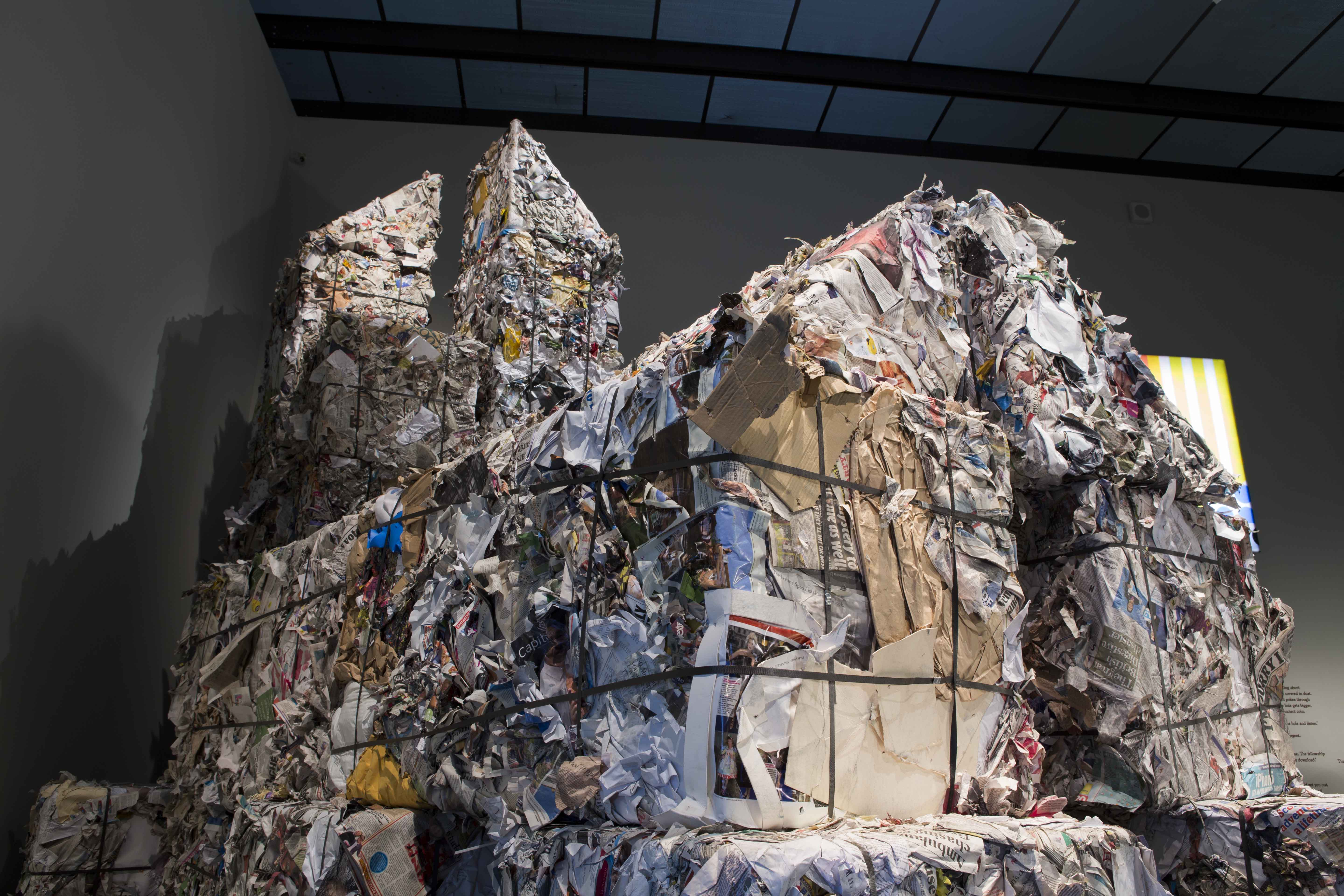 Memory Palace\' Exhibition Renders Dystopian World With Trash Towers ...