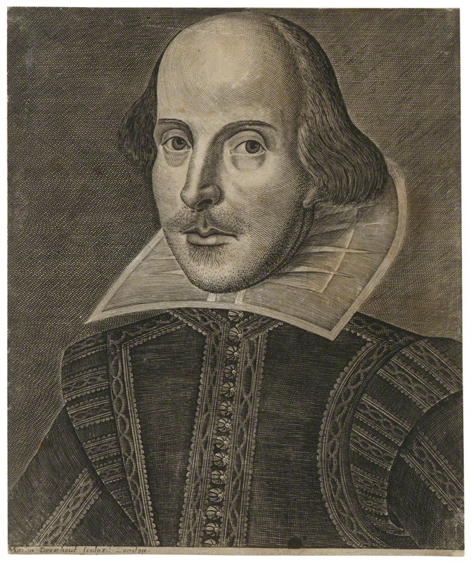 Image result for william shakespeare portrait