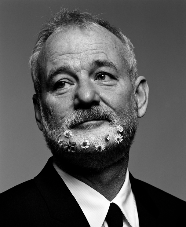 Young Bill Murray Mustache Inez & Vinoodh Pho...