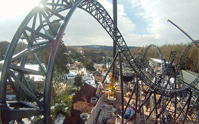 The Smiler roller-coaster