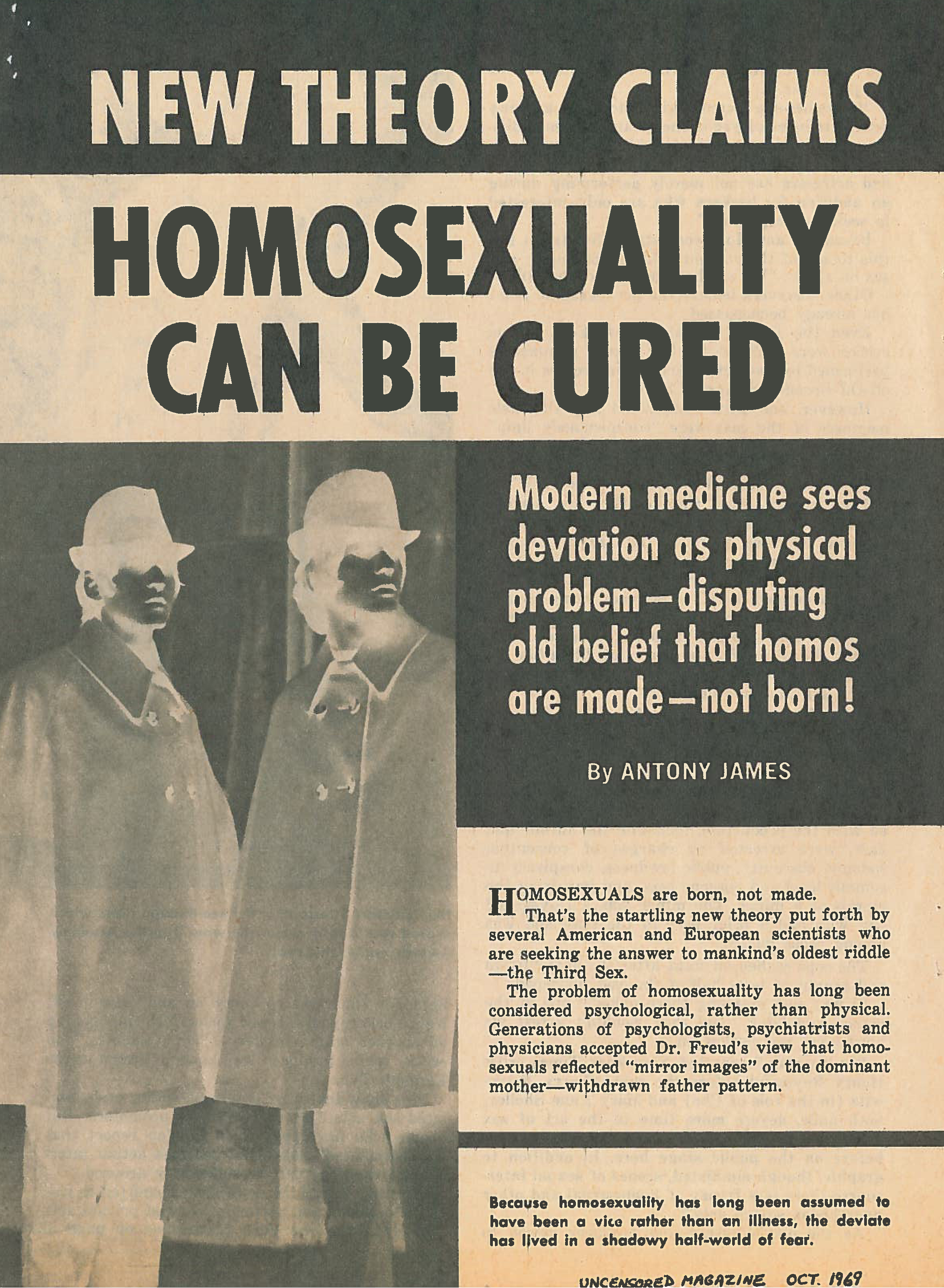 homosexuals and drugs