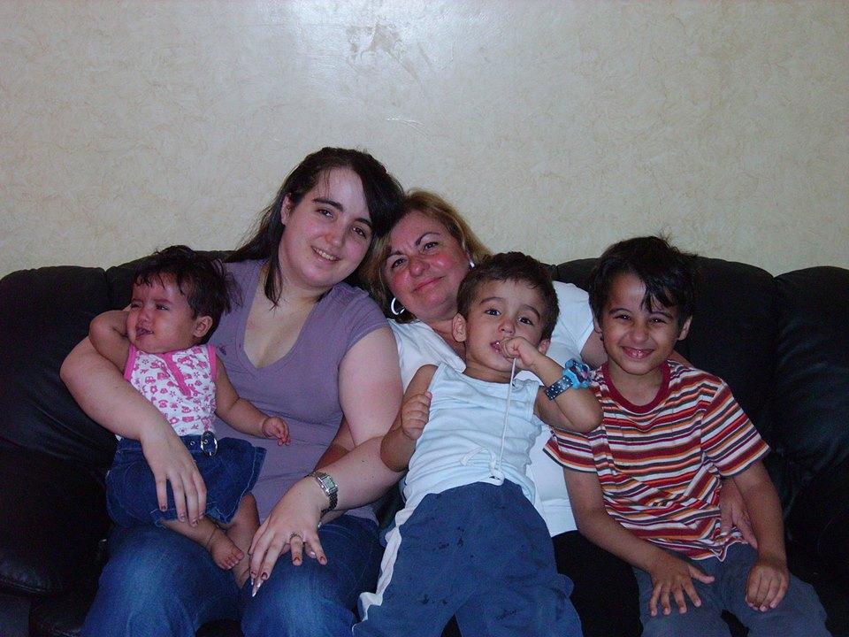 Nathalie Morin and Family, 2009, © Johanne Durocher
