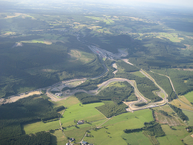 Spa-Francorchamps F1 Circuit