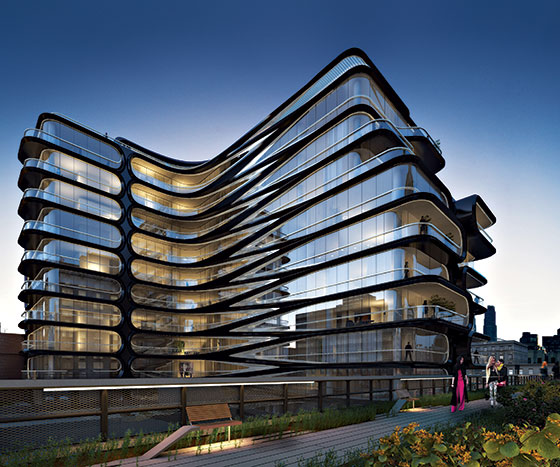 Zaha Hadid Unveils First NYC Building: A 'Don Draper