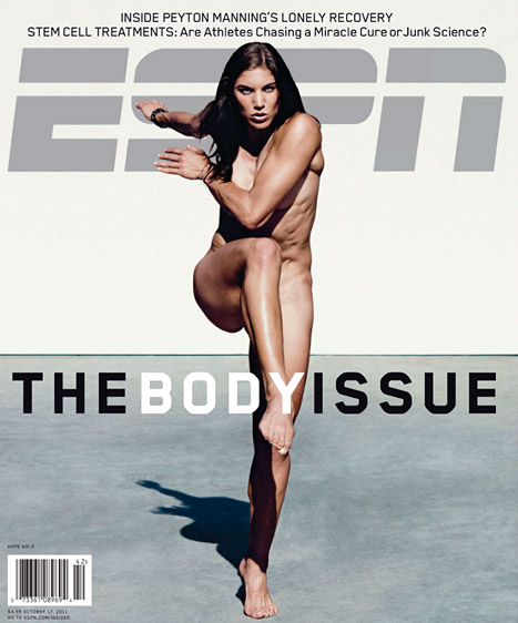 Hope Solou0026#39;s Nude ESPN Shoot Included Dropping Her Robe, Sprinting In The Middle Of The Street ...