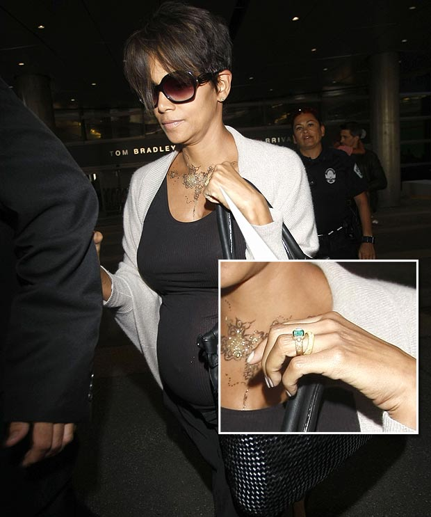 What Does Halle Berry S Wedding Ring Mean