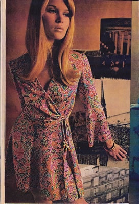 2017 07 25 671 Jpg In 1968 Many Years Before Dvf Created The Wrap Dress
