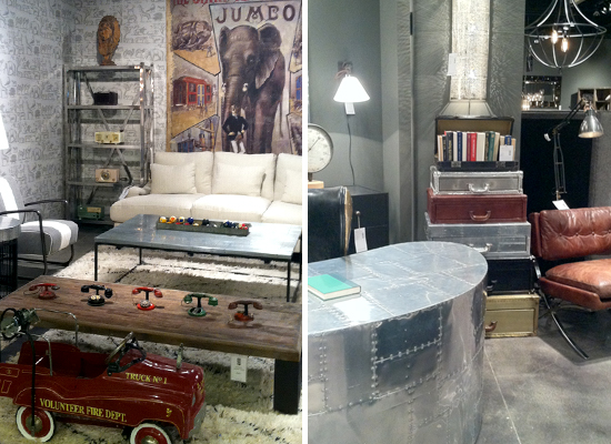 2013 Design Trends at Las Vegas Market -- Industrial Chic