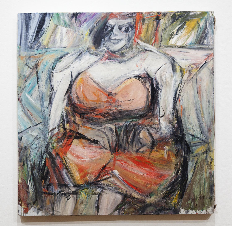 Willem de Kooning (Portrait of Woman)