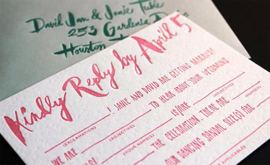 9 Creative Mad Libs Wedding Ideas – Fun Wedding Rsvp Cards