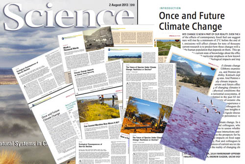 Science magazine's climate change coverage