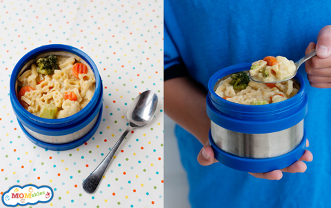 school lunch project veggie mac cheese thermos huffpost. Black Bedroom Furniture Sets. Home Design Ideas