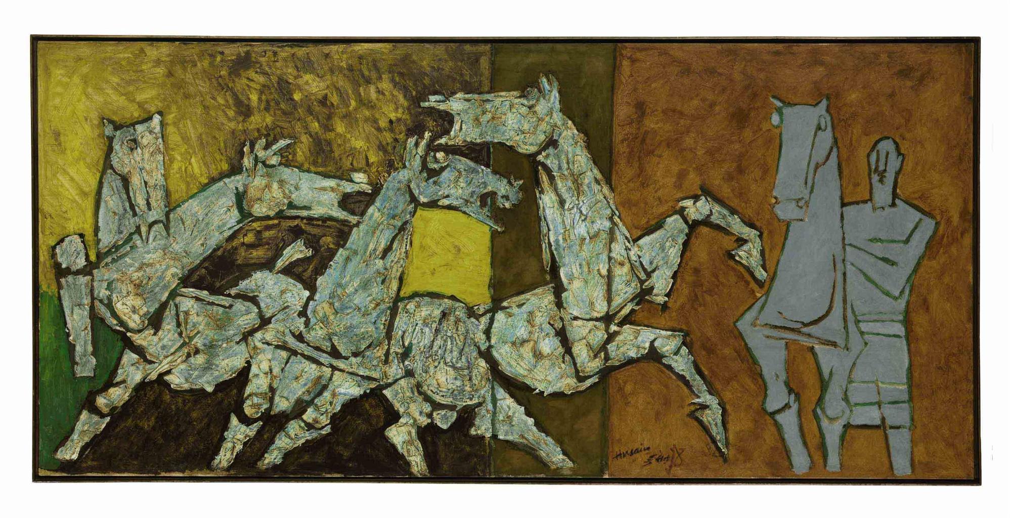 Husain Paintings For Sale