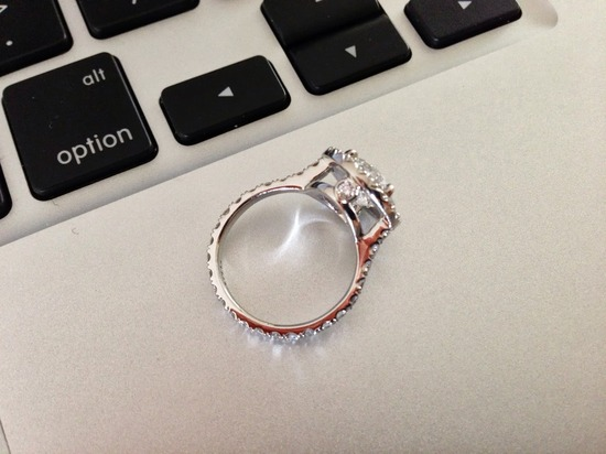 Ring and keyboard photo by Simone Smith