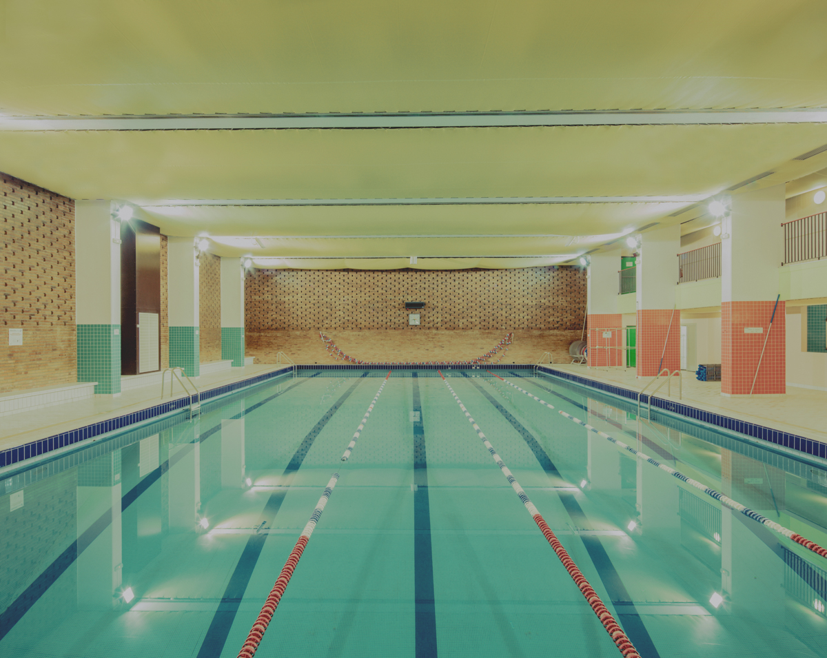 The Hypnotic Architecture Of Empty Swimming Pools