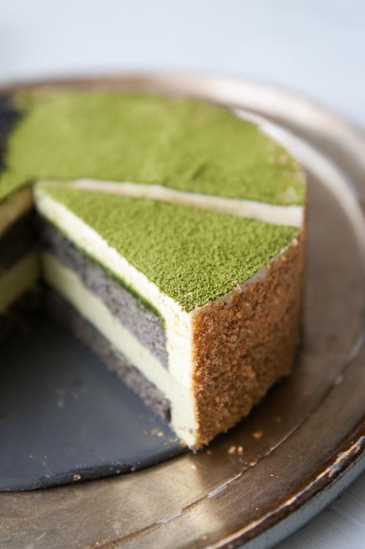 Matcha Green Tea Powder Cake Recipe