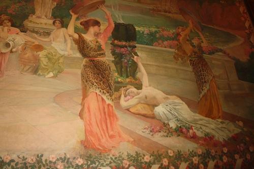 Hidden gems of europe collioure perpignan and saint cyprien for Art nouveau mural