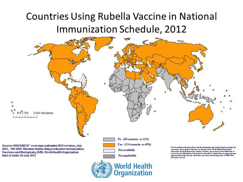 旅行医学の視点で風疹をとらえる