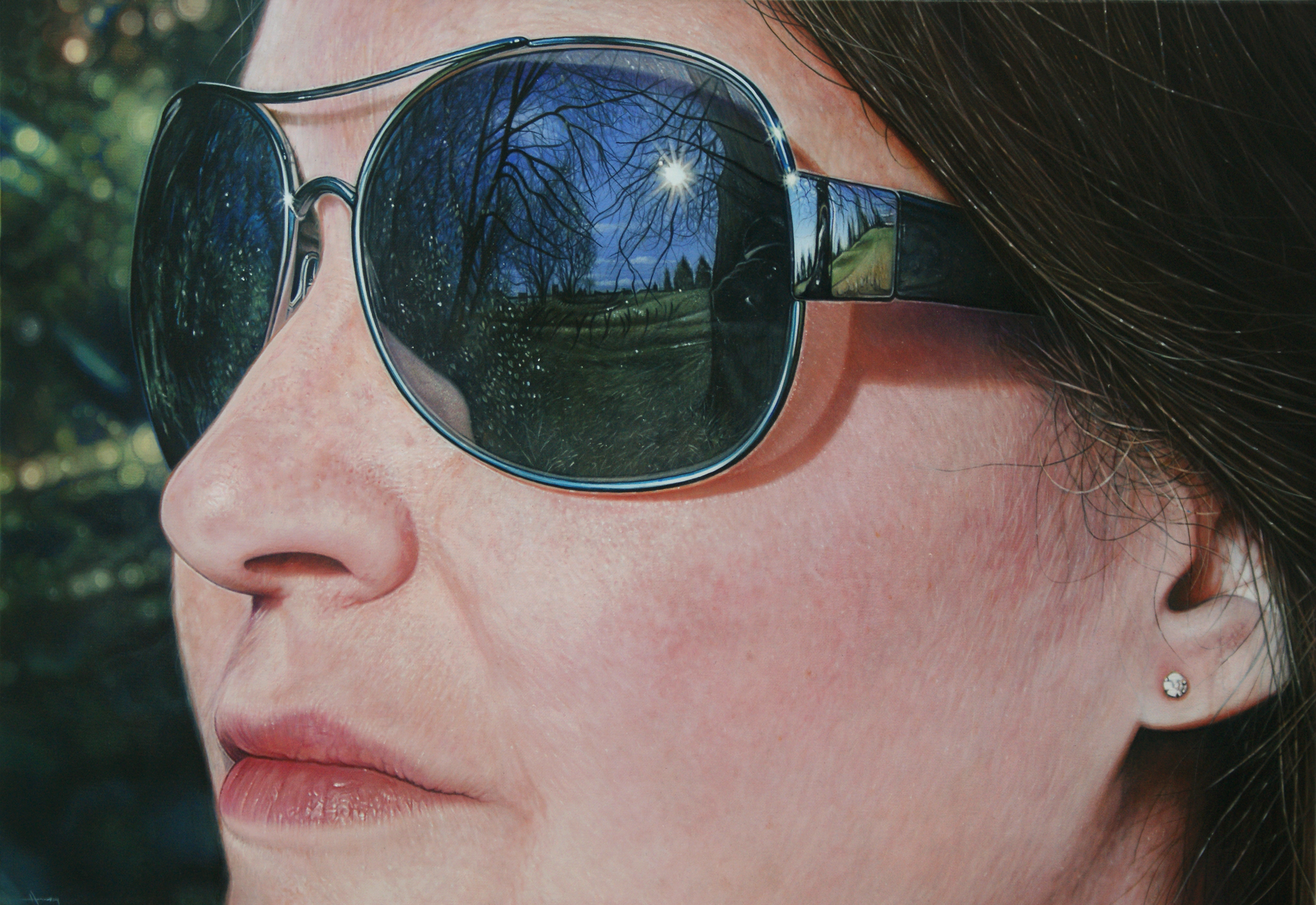 Hyperrealism in painting. Is it really possible Someone knows the author 78