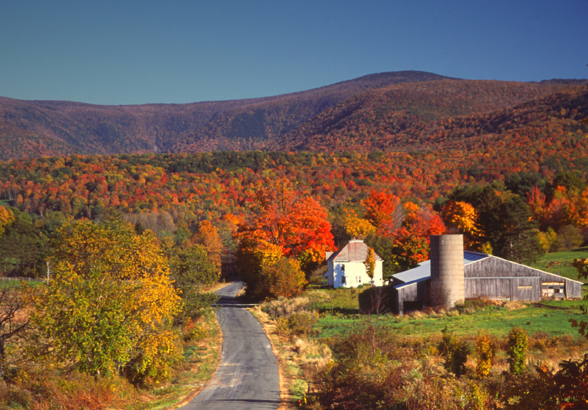 Where to see new england 39 s best fall foliage huffpost for The berkshire