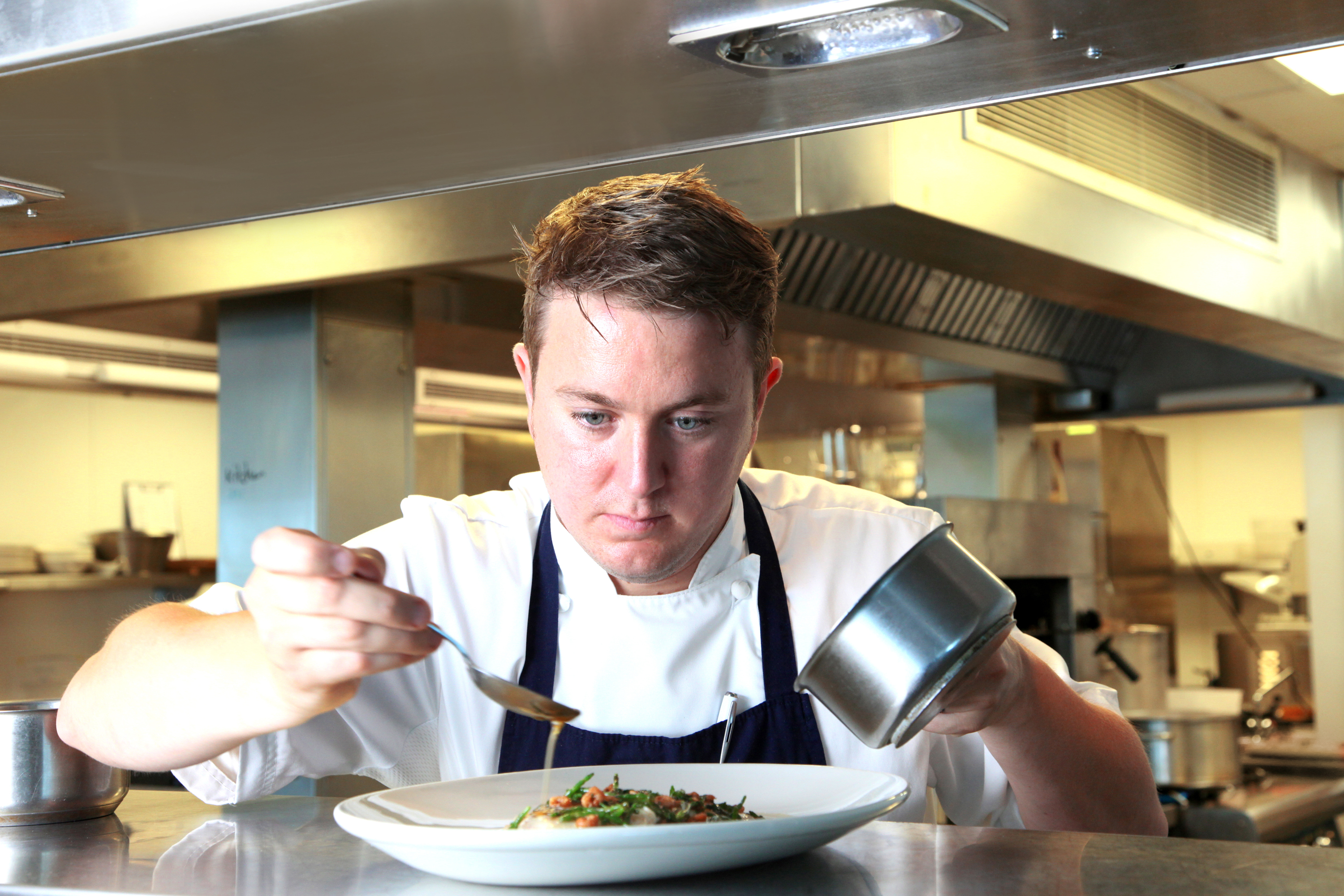 Jamie porter takes over as head chef at st moritz cornwall Chef comes to your house