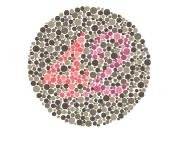 Cartas De Ishihara: ¿diferencias Bien Los Colores? Haz La Prueba