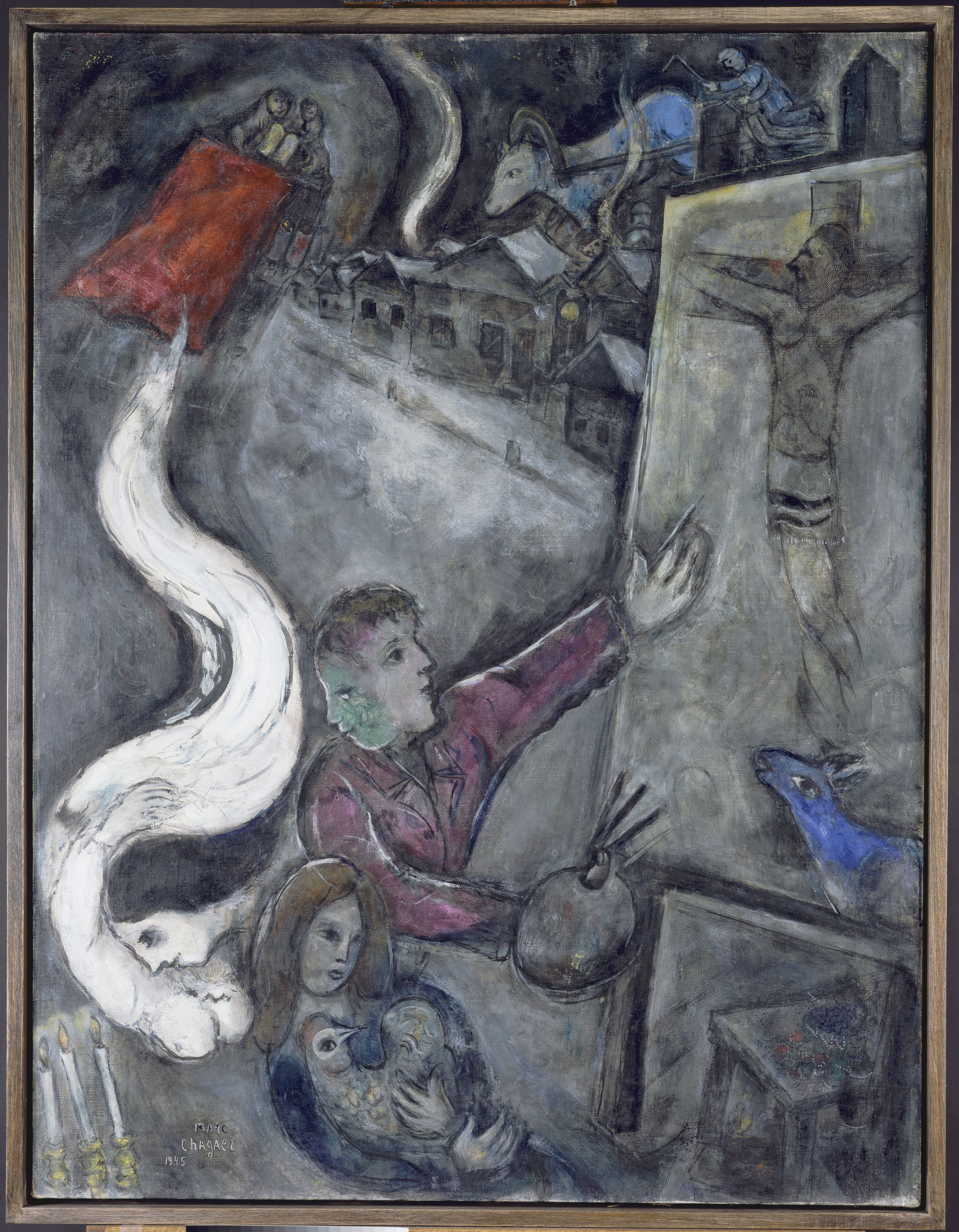 A Surprisingly Dark Side Of Marc Chagall Heads To Jewish ... Marc Chagall White Crucifixion Poem