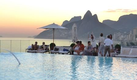 Of Chairs And Celebrities The Hotel Fasano In Rio Huffpost