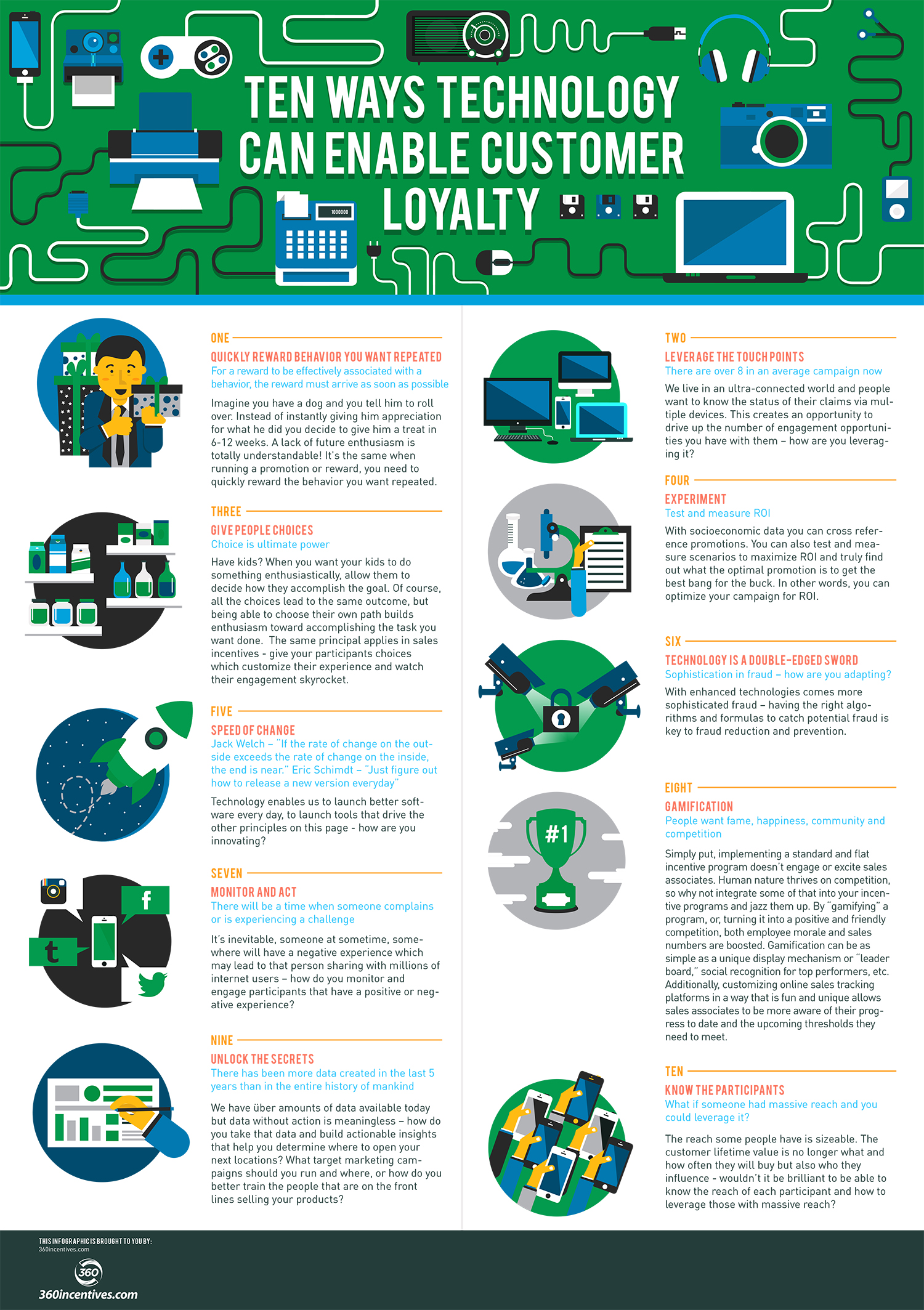 10 Ways Technology Can Enable Customer Loyalty
