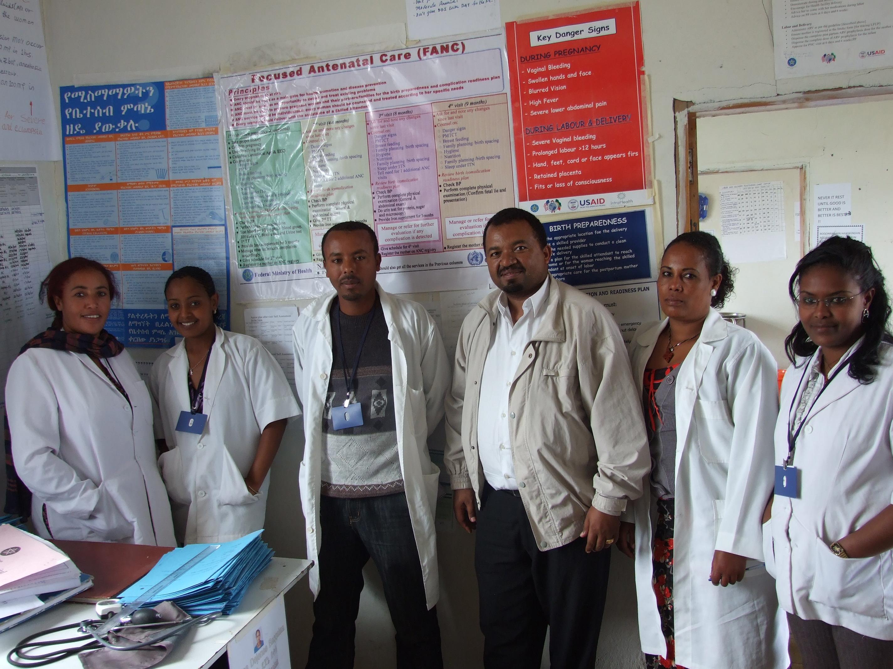 2013-09-20-Ethiopiahealthcenterstaff2.JPG