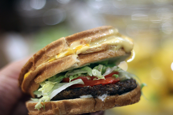 Jack In The Box Now Has A Cheeseburger Topped With Grilled Cheese Sandwich More Munchie Monstrosities